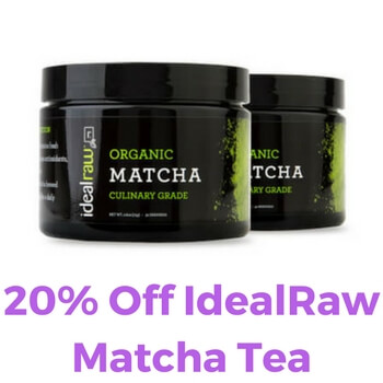 Idealraw Matcha Tea Coupon Code