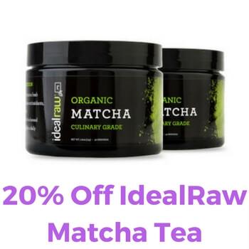 Idealraw Matcha Tea Coupon Code